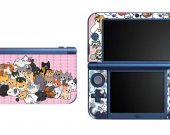Neko Atsume NEW Nintendo 3DS XL LL Vinyl Skin Decal Sticker