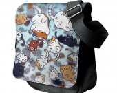 Neko Atsume Messenger Shoulder Bag