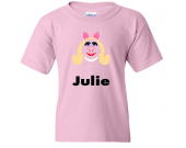 Muppets MS. PIGGY Vinyl with Custom Name Logo Number