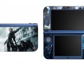Metal Gear Rising Raiden NEW Nintendo 3DS XL LL Vinyl Skin Decal Sticker