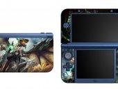 Scale Bound NEW Nintendo 3DS XL LL Vinyl Skin Decal Sticker