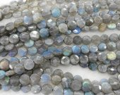 high quality Genuine Labradorite gemstone 8 10 12 14mm full strand round disc square box faceted  jewelry beads