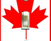 CANADA Flag Switch Plate (single)