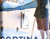 CORTINA Vintage Ski Poster Switch Plate (single)