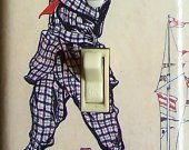 GOLF SWING vintage poster Switch Plate (single)