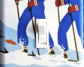 NEW YORK Vintage Ski Poster Switch Plate (single)