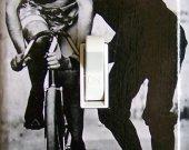 ELF BIKE Vintage Photograph Switch Plate (single)