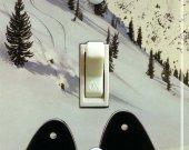 HEAD SKIS Vintage Ski Poster Switch Plate (single)