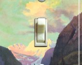 This Is ALASKA vintage poster Switch Plate (single)