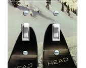 HEAD SKIS Vintage Ski Poster Switch (double)