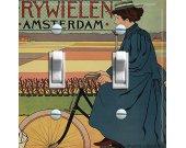 AMSTERDAM BIKE Switch Plate (double)