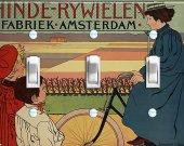 AMSTERDAM BIKE Switch Plate (triple)