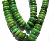 hihg quality 12-16mm natural chrysoprase gemstone Australia jade  green  heishi rondelle abacus round loose bead