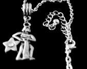 Aquarius necklace Aquarius jewelry Aquarius gift Aquarius horoscope Aquarius zodiac aquarius astrology