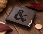 Dungeons and Dragons D&D Leather Wallet