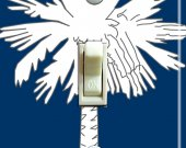 SOUTH CAROLINA State FLAG Single Switch Plate
