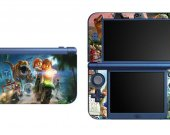 LEGO Jurassic World NEW Nintendo 3DS XL LL Vinyl Skin Decal Sticker