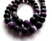 high quality fire agate gemstone  round ball  purple black veins crab assortment jewelry  beads 10mm--5strands 16inch/per strand