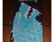 Game of Thrones House Stark Cross-stitch Bookmark