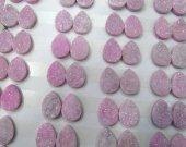 50pcs 10-20mm  Titanium Agate beads Druzy Agate teardrop peach oval egg  Beads Pendants Drusy Quartz Cabochons Charms Necklace Jewelry