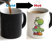 Yoshi Changing Ceramic Coffee Mug CUP 11oz
