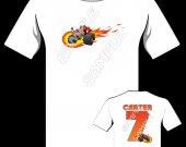 BLAZE AND THE MONSTER MACHINE Personalized T-Shirt #1