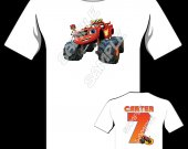 BLAZE AND THE MONSTER MACHINE Personalized T-Shirt #2