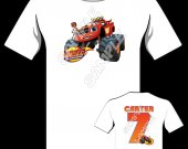 BLAZE AND THE MONSTER MACHINE Personalized T-Shirt #3