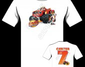 BLAZE AND THE MONSTER MACHINE Personalized T-Shirt #5