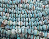 high quality 5strands 8 10 12mm Tibetant Agate Gem Round Ball Faceted Triangle  Eyes   Evil  purple  aqua blue  Loose Bead