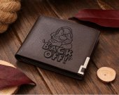 Back Off! SNOW WHITE Dwarfs Leather Wallet