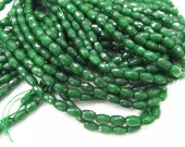 5strands 4-12mm Dark Green Jade Rice Faceted Beads Supplies Oval Beads cherry pink sapphire blue lapis blue mixed beads for Jewelry Making