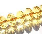 AA+ grade  Citrine quartz  Bicone pinwheel Rondelle Briolette jewelry beads