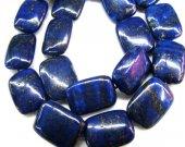 wholesale 2strands 8-20mm genuine Lapis Lazuli Gemstone rectanlge lapis ,diamond  moon blue gold  loose bead