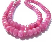 Genuine Raw Ruby necklace  Ruby Beads gemstone   rondelle abacus wheel  faceted jewelry suippers red necklace 3-10mm 17inch