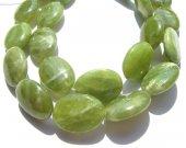 geniune  chrysoprase bead  Peridot olive Chrysoprase gemstone  oval egg lemon green jewelry beads 8x10 10x14 12x16mm full strand