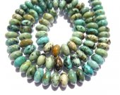 2strands Natural  Africal Turquoise  stone rondelle wheel  wholesale loose beads  3x4 4x6 5x8mm