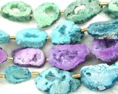 Geniune Druzy agate,titanium quartz,Drusy  20-60mm full strand  slab freeform  rose ,green,purple,red,black,white mixed pendant  bead