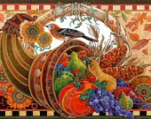 "Bead Embroidery Kit ""Cornucopia"", 10x15"""