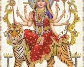 "Bead Embroidery Kit ""Durga"", 10x15"""