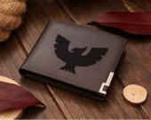 Captain Falcon Logo  Leather Wallet