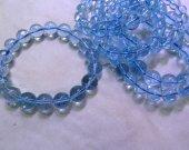 AA+ genuine 4-12mm Topaz gemstone,London Blue topaz Beads,Sky blue Topaz jewelry Bracelet