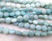 Natual Amazonite stone,Amazone bead, round coin disc beads 8 10 12 14 16mm full strand