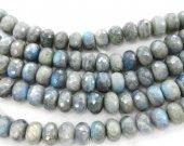 3-20mm full strand genuine Labradorite Bead  Natural Labradorite  Rondelle Roundels Abacus Faceted  Grey Loose Bead