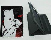Monokuma  Ipad Mini 1 /2 / 3 Protective Fold Leather Smart Cover case