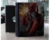 Ipad Air Leather Smart Cover -- Dead pool