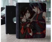 Ipad Air Leather Smart Cover -- Akame Ga Kill Akame Murasame