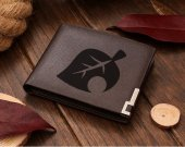 Animal Crossing Leaf Leather Wallet