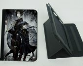 Black Butler Ipad Mini 1 /2 / 3 Protective Fold Leather Smart Cover case