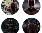 Daredevil Set Of 4 Wood Drink Coasters